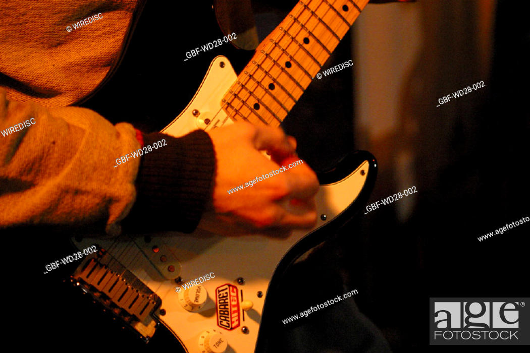 Stock Photo: Music, guitar.
