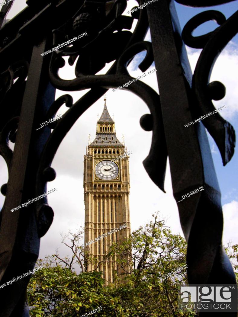 Stock Photo: Big Ben, London. England, UK.