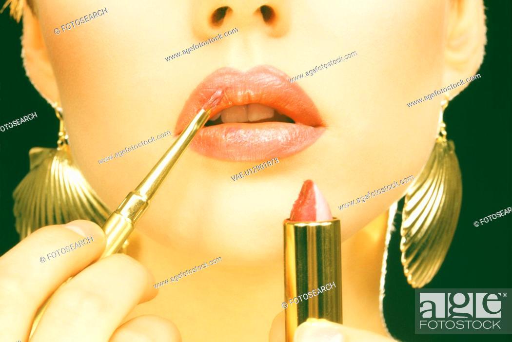 Stock Photo: Makeup.