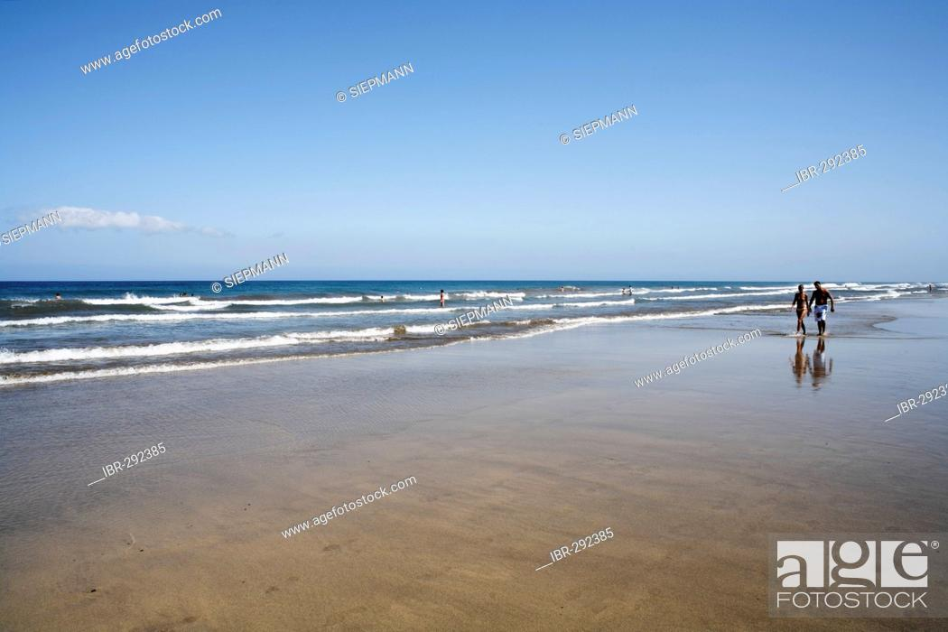 beach playa del ingles