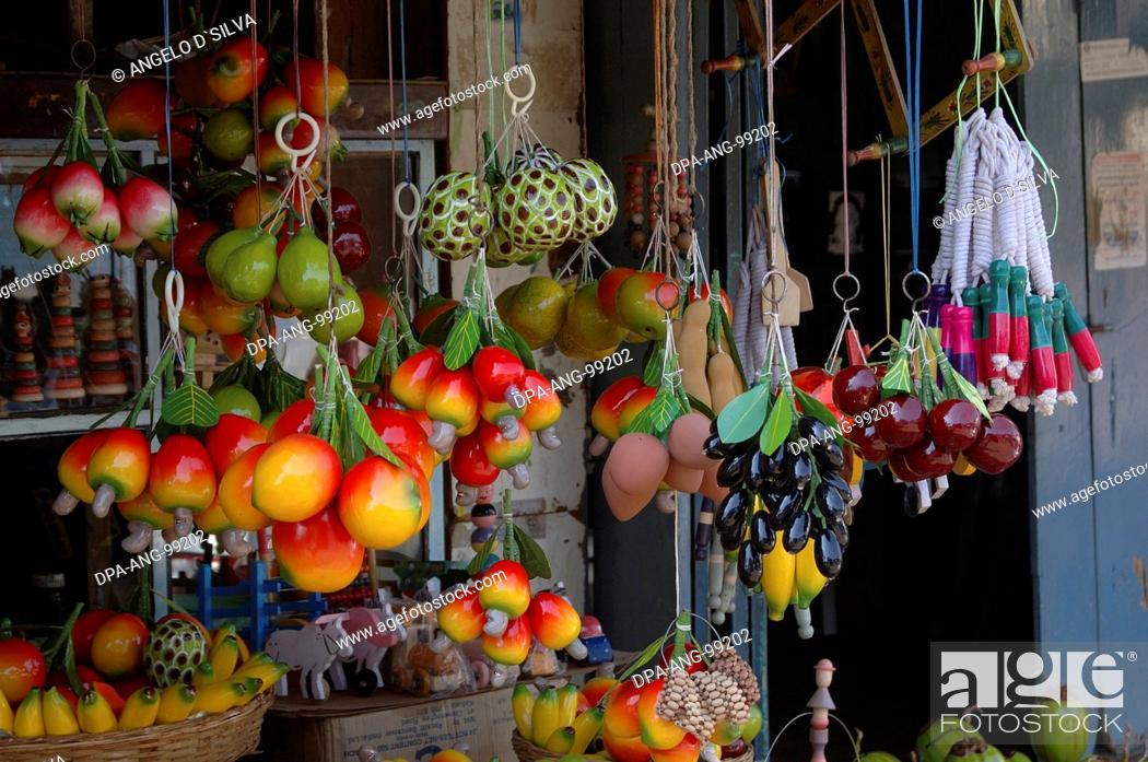 Wooden Toy Shop Sawantwadi Sindhudurga Maharashtra India