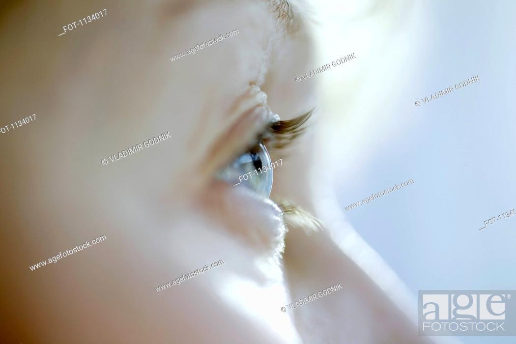 Stock Photo: Close-up of eye.