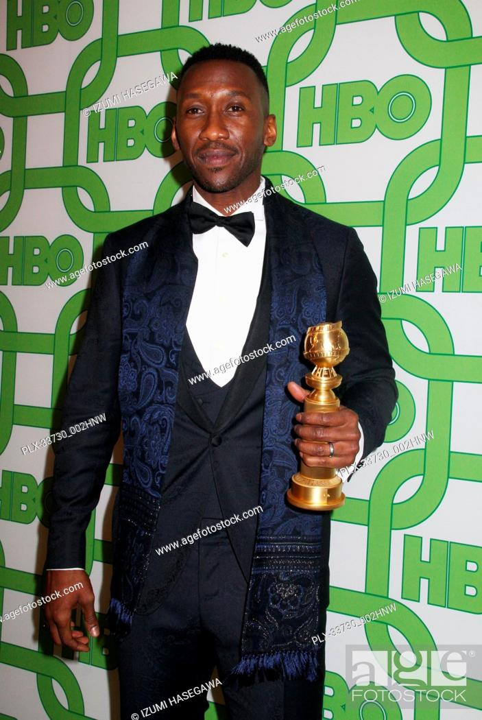 Imagen: Mahershala Ali 01/06/2019 The 76th Annual Golden Globe Awards HBO After Party held at the Circa 55 Restaurant at The Beverly Hilton in Beverly Hills.