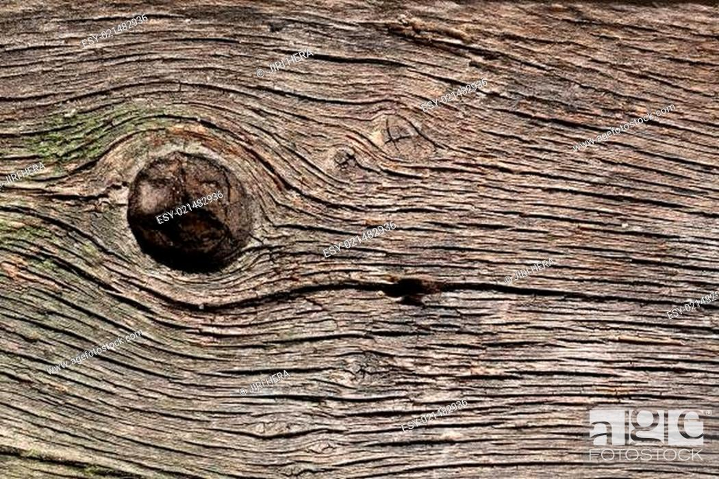 Stock Photo: old wooden pattern.