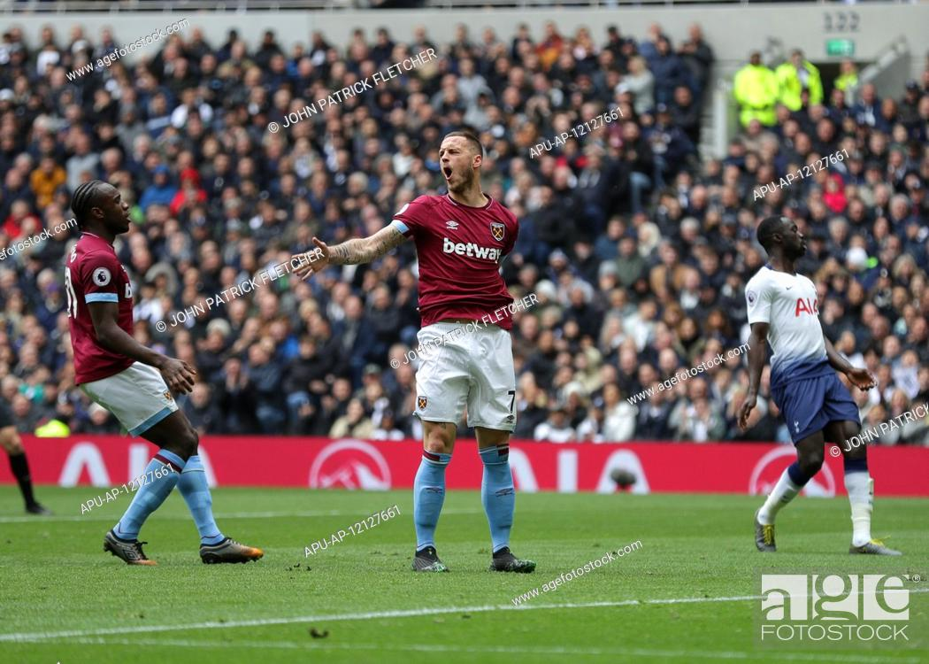 2019 Epl Premier League Football Tottenham Hotspur V West Ham Utd Apr 27th Stock Photo Picture And Rights Managed Image Pic Apu Ap 12127661 Agefotostock