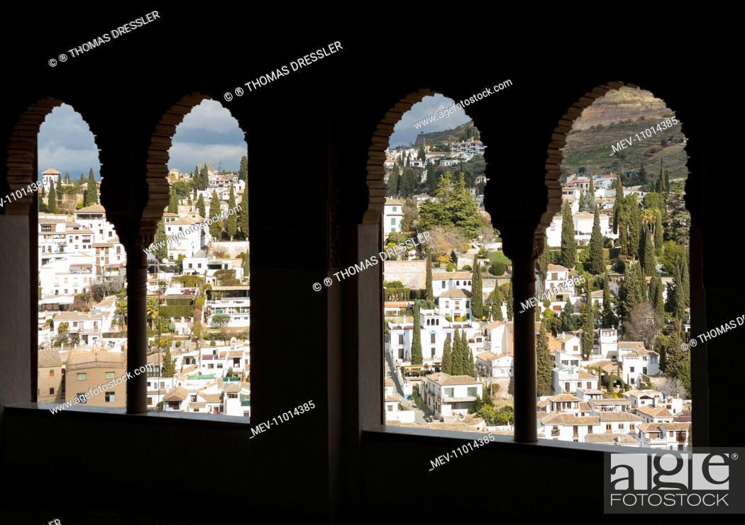 The Albaicin - Granada's characteristic Moorish quarter - seen from