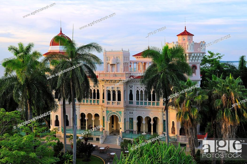 Stock Photo: Palacio del Valle in Punta Gorda.Cienfuegos.Cuba.