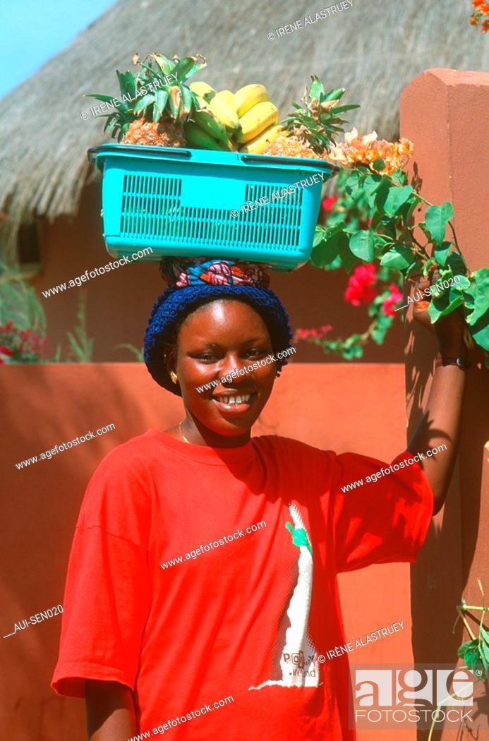 Stock Photo: Senegal - La Petite Cote - Saly-Portudal.