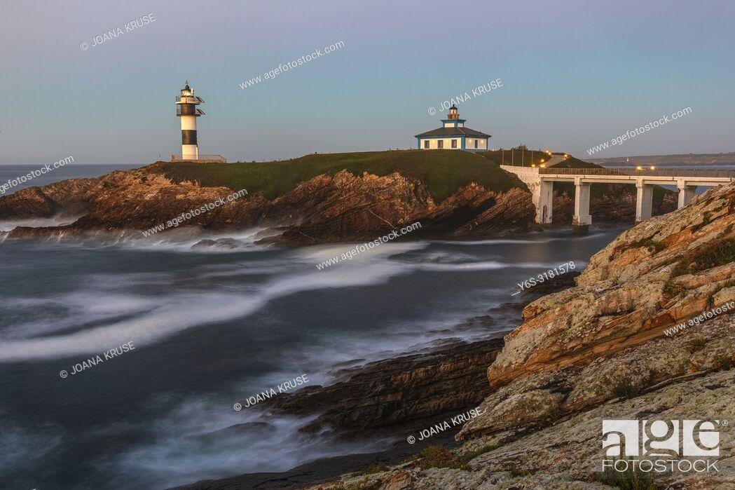 Stock Photo: Illa Pancha, Ribadeo, Galicia, Spain, Europe.