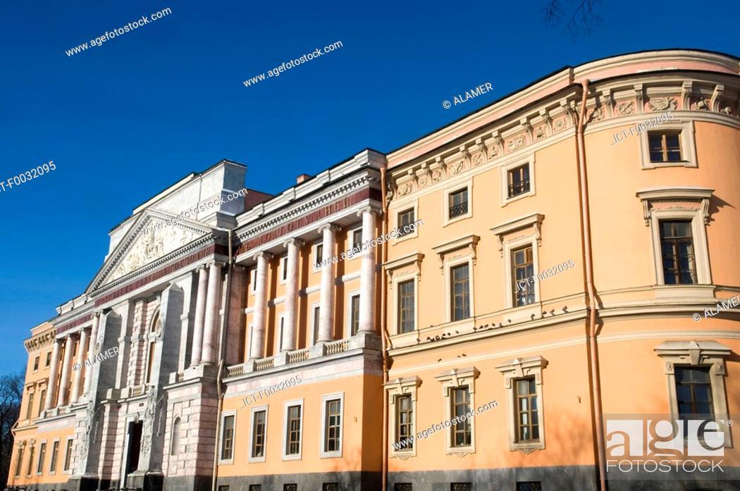 Stock Photo: Russia, St Petersburg, Saint Michael's castle.