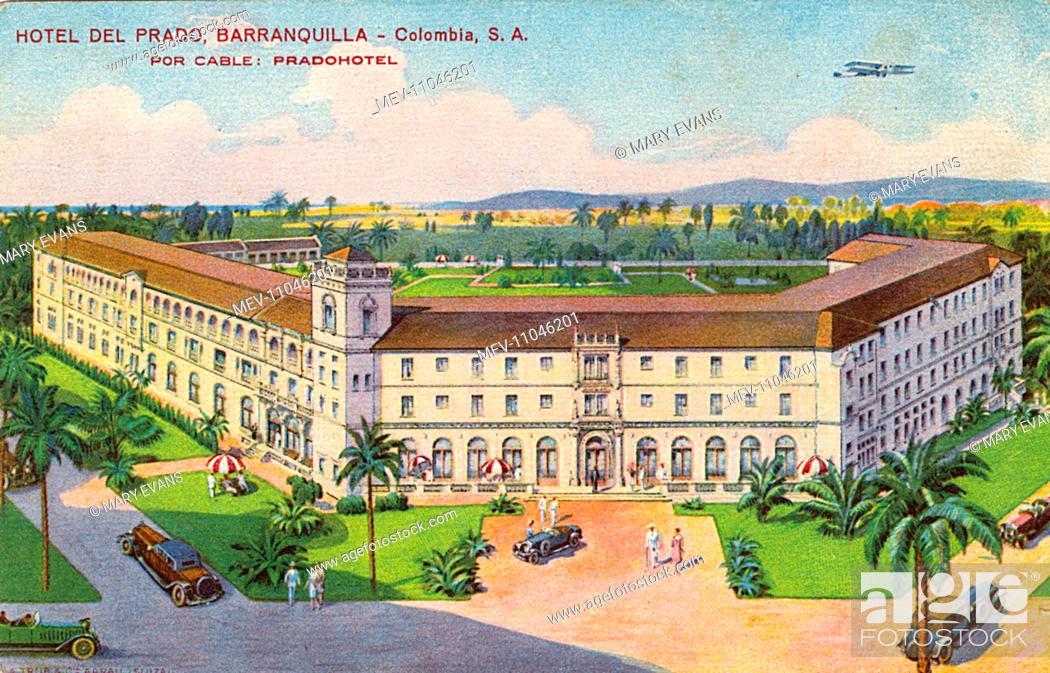 Stock Photo: Hotel del Prado, Barranquilla, Colombia, Central America.