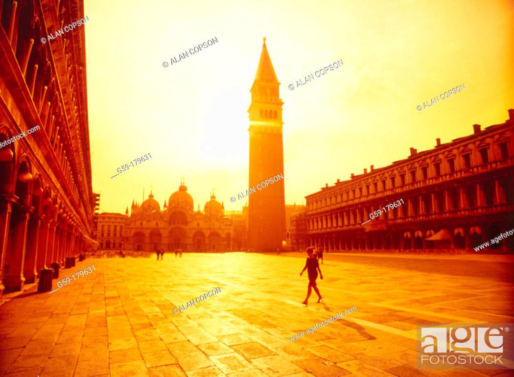 Stock Photo: St. Mark's Square. Venice. Italy.