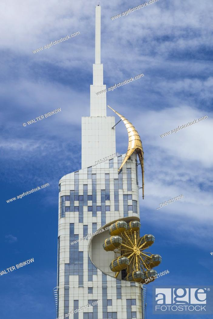 Stock Photo: Georgia, Batumi, Batumi Tower.