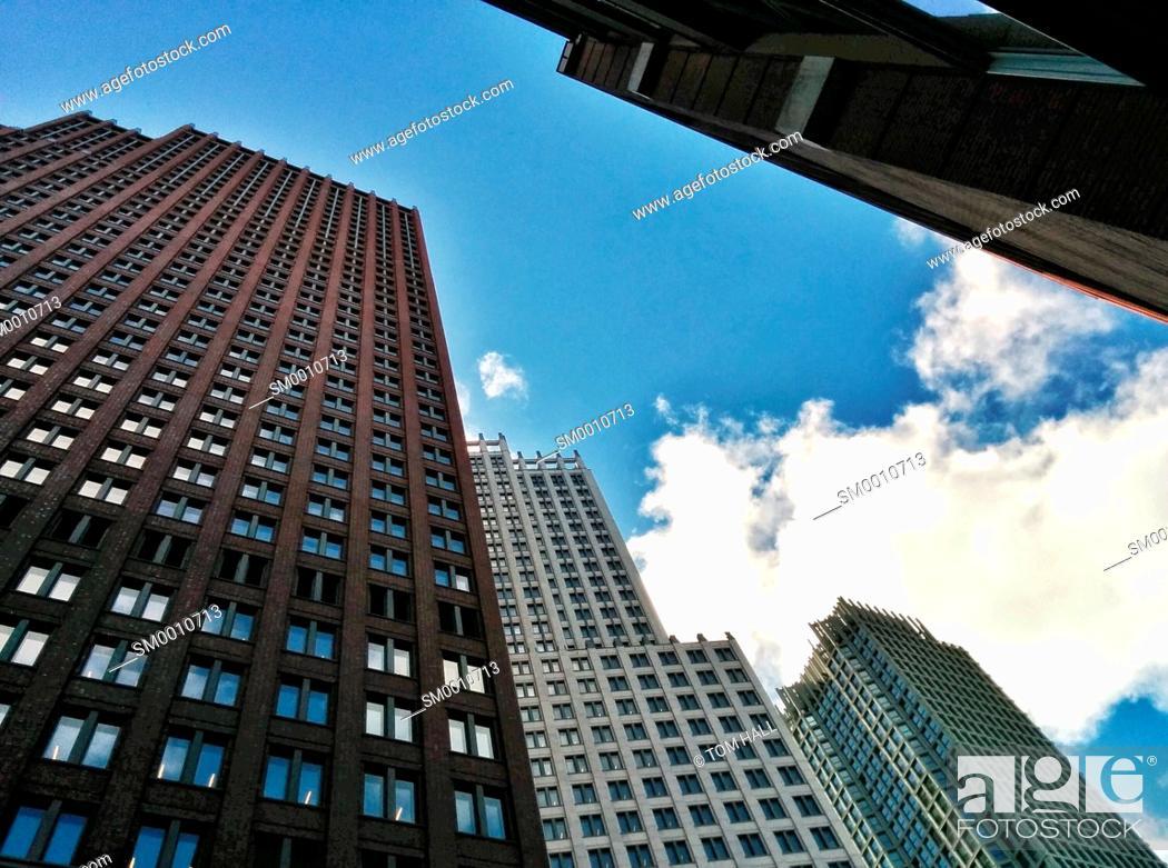 Stock Photo: High rises I.