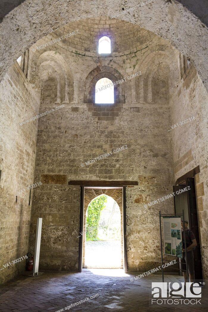 Stock Photo: Church of San Giovanni degli Eremiti. Palermo, Sicily. Italy.