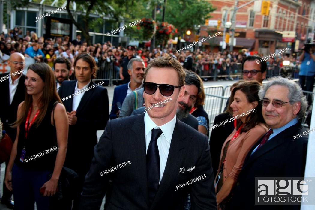 Actor Michael Fassbender attends the premiere of