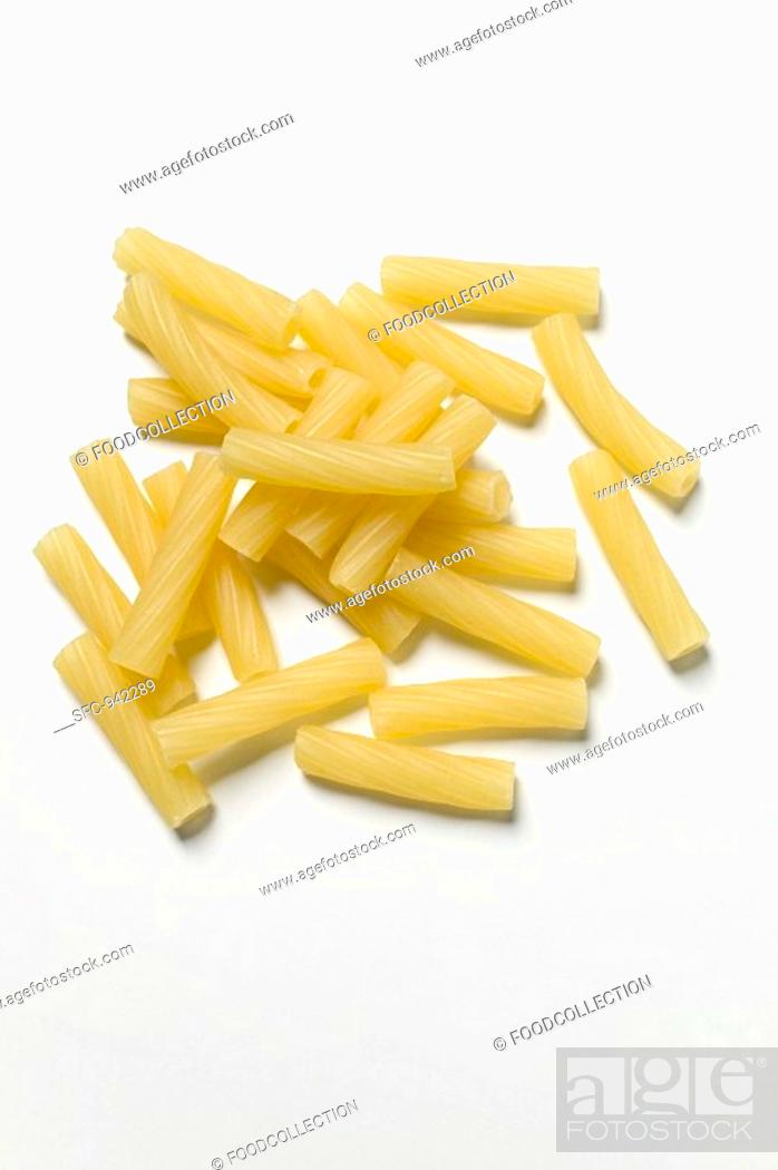 Stock Photo: Rigatoni.