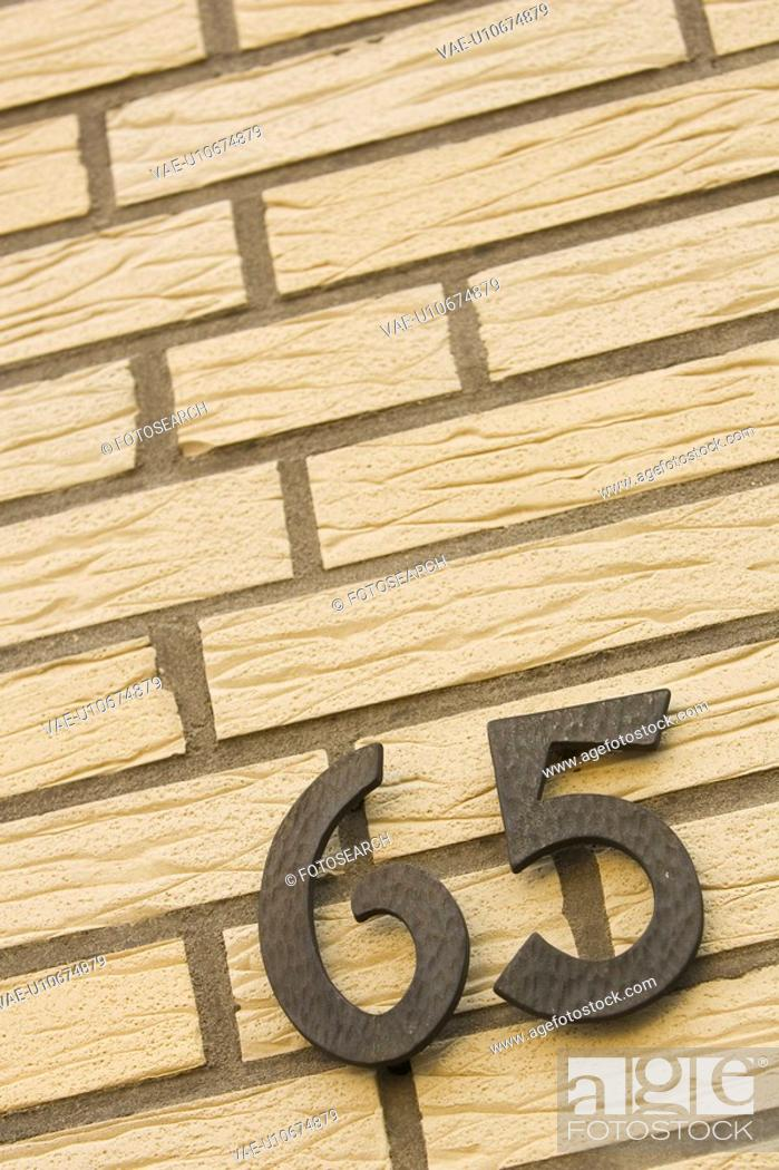 Stock Photo: Attached, Close-Up, Brick Wall, Brick, 65.