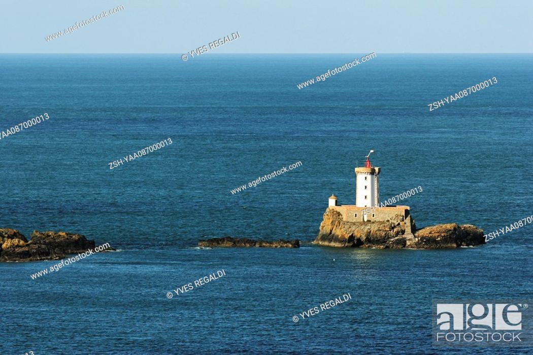 Stock Photo: Lighthouse, Brittany, France.