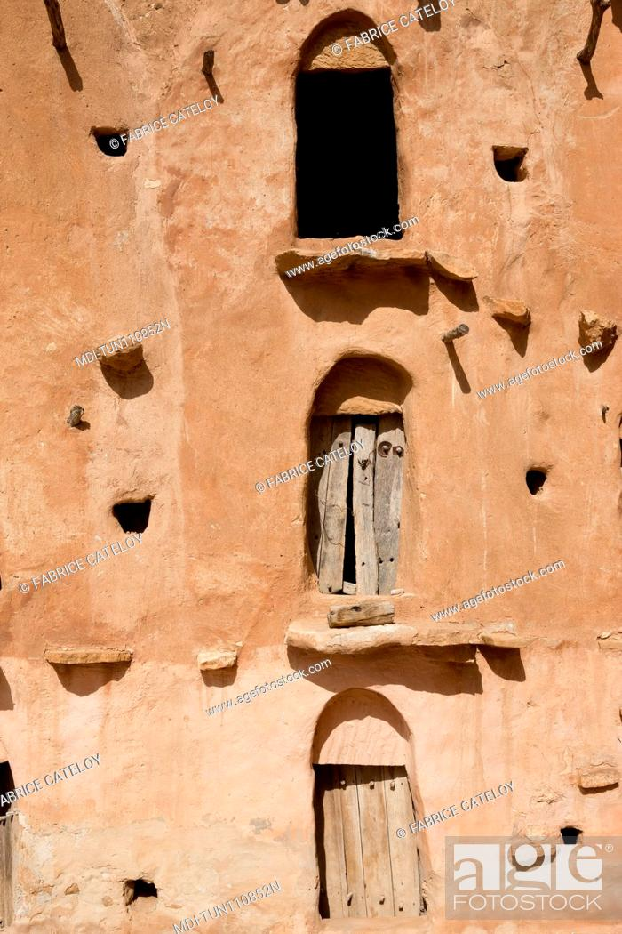 Stock Photo: Tunisia - Ksar Ouled Soltane - Ksar used before to store goods for men and animals.
