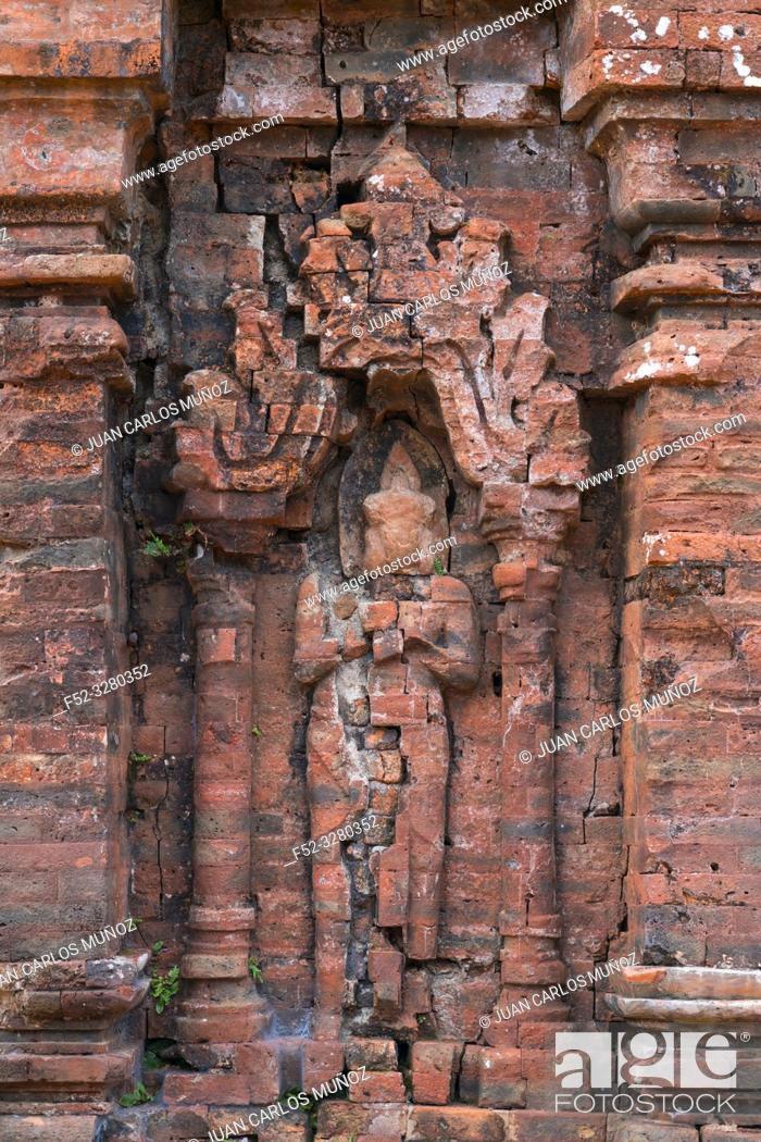 Photo de stock: My Son Sanctuary, Hindu Temples, Unesco World Heritage, Quan Nam Province, Vietnam, Asia.