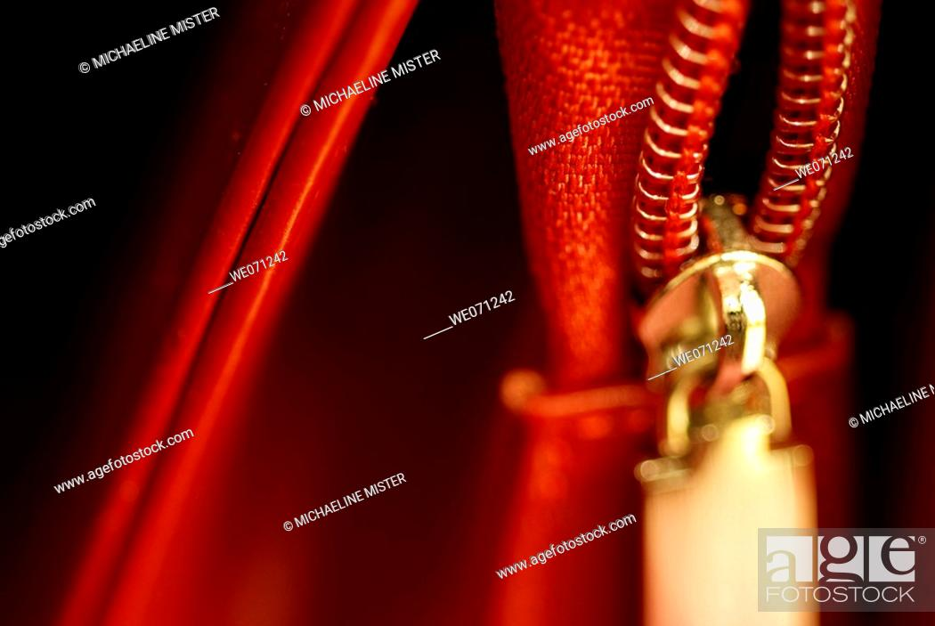Stock Photo: Zipper.
