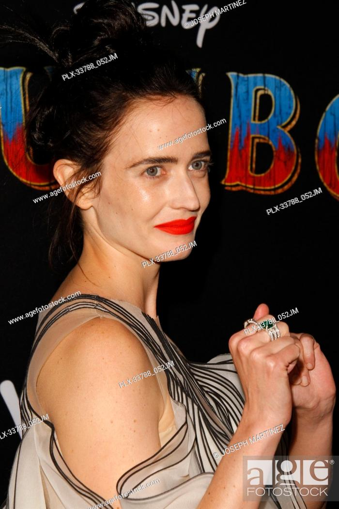 """Imagen: Eva Green at Disney's """"""""Dumbo"""""""" Premiere held at the Ray Dolby Ballroom, Loews Hollywood Hotel, Hollywood, CA , on March 11, 2019."""