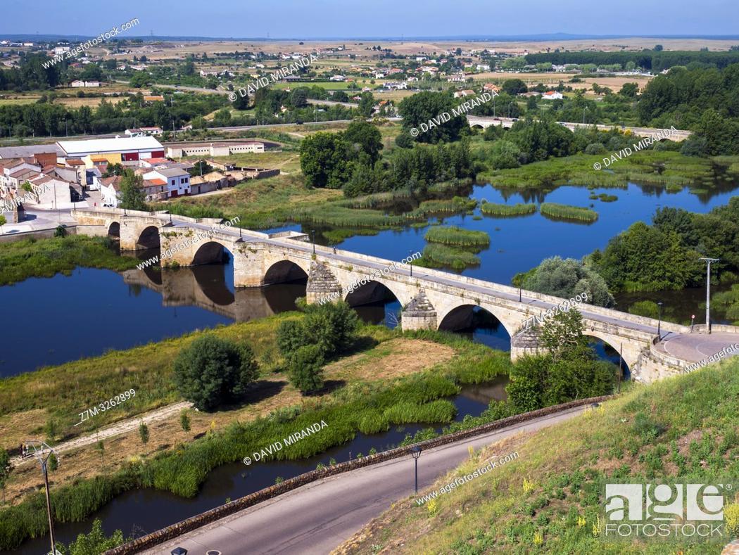 Imagen: Puente Mayor. Ciudad Rodrigo. Salamanca. Castilla León. España.