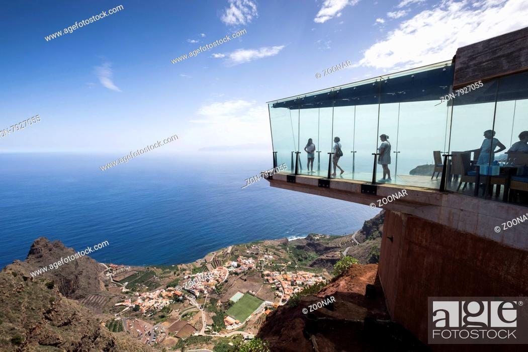 The Mirador De Abrante With Its Glass Floor Projecting Out From