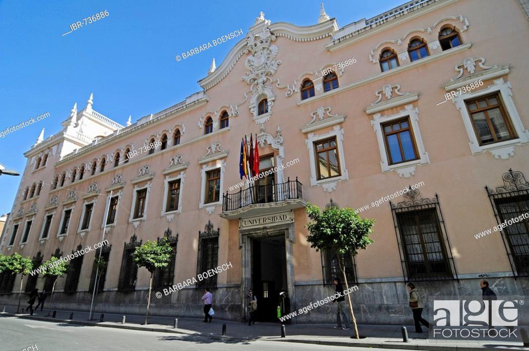 Stock Photo: University in Murcia, Spain, Europe.