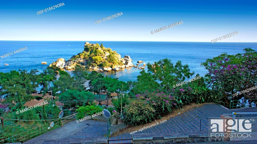 Stock Photo: Italy, Taormina.