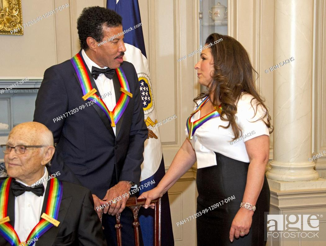 Lionel Richie And Gloria Estefan Two Of The Five Recipients