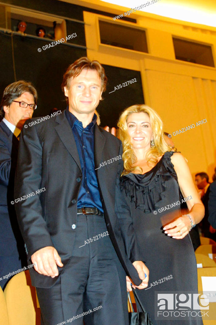 Liam Neeson and Natasha Richardson (2002), Stock Photo