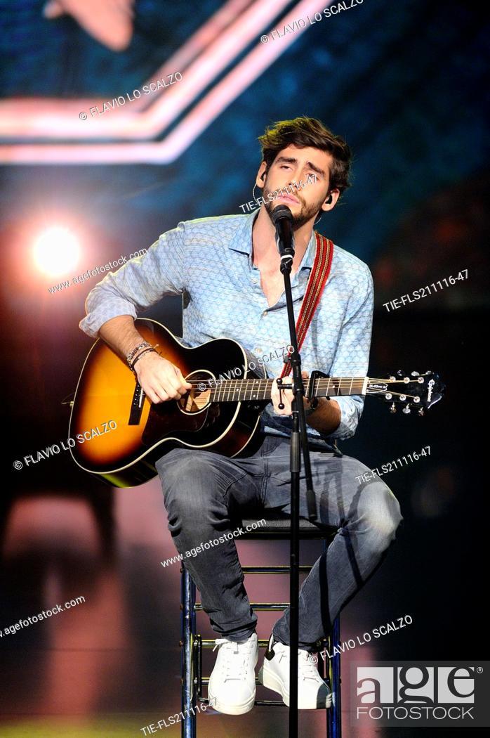 Imagen: The singer Alvaro Soler guest at tv programme Che tempo che fa, Milan, ITALY-20-11-2016.