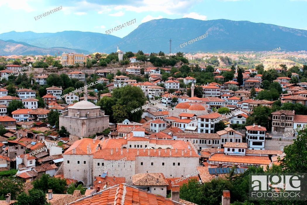 Stock Photo: Traditional houses in Safranbolu, Turkey.