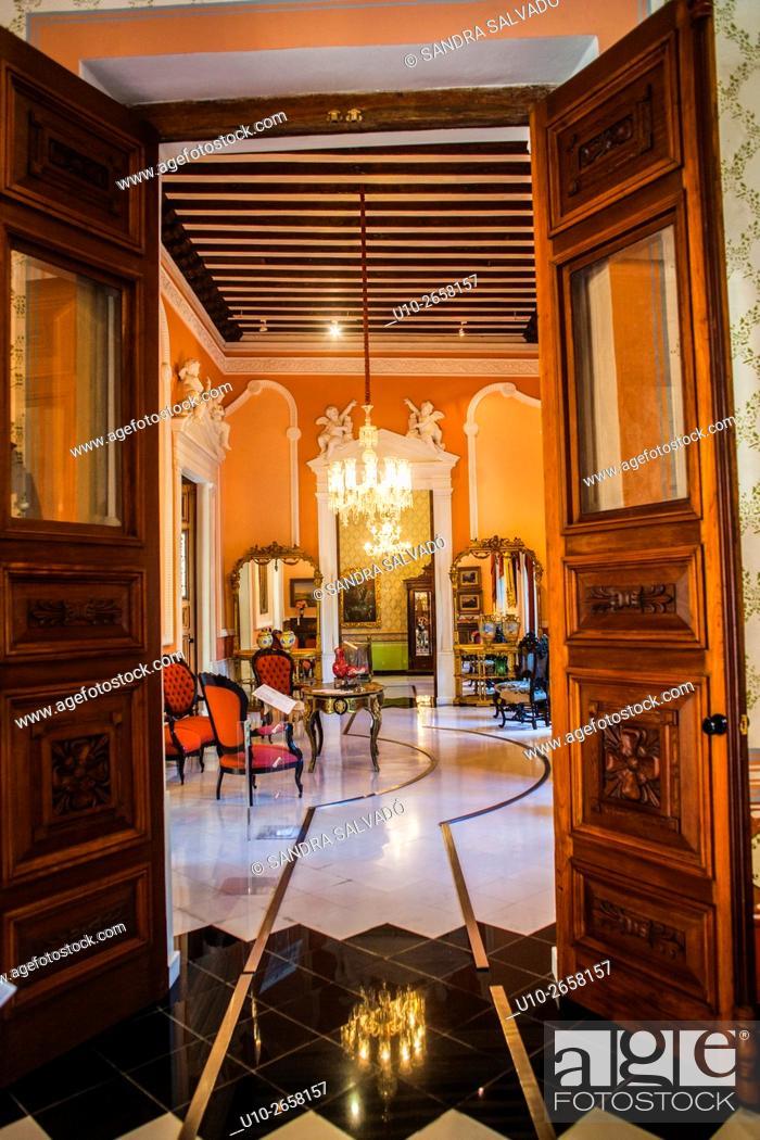 Stock Photo: Casa de Montejo, Mérida, Yucatán, México.