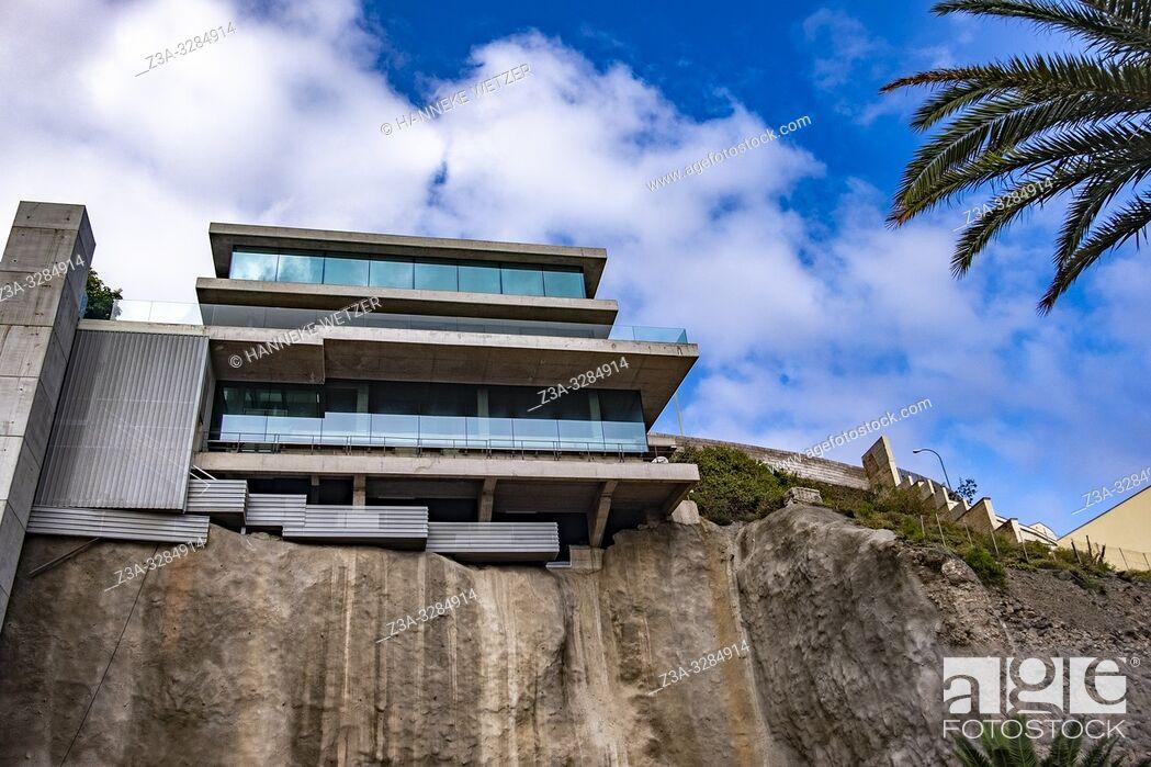 Stock Photo: Modern architecture in Las Palmas de Gran Canaria, Canary Islands.
