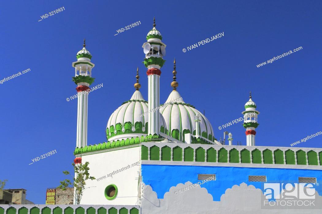 Stock Photo: Jama Masjid Jaan Mohammed, Amritsar, Punjab, India.