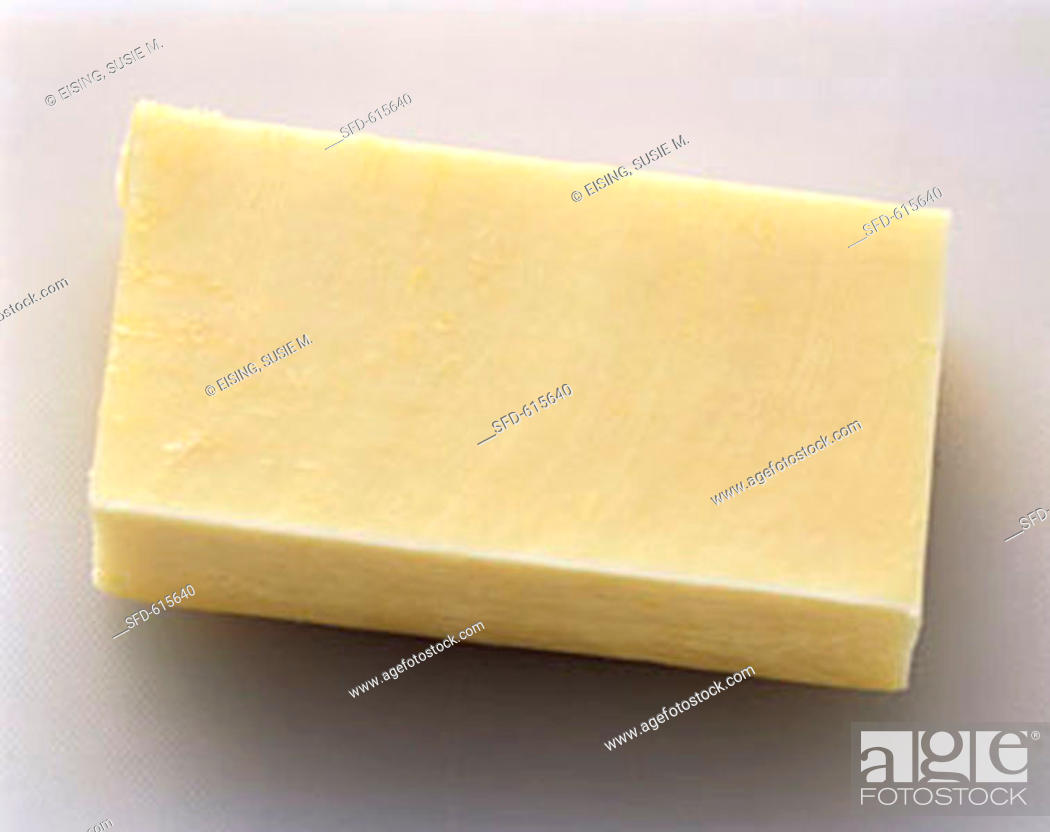 A Stick of Monterey Jack Cheese, Stock Photo, Picture And Rights