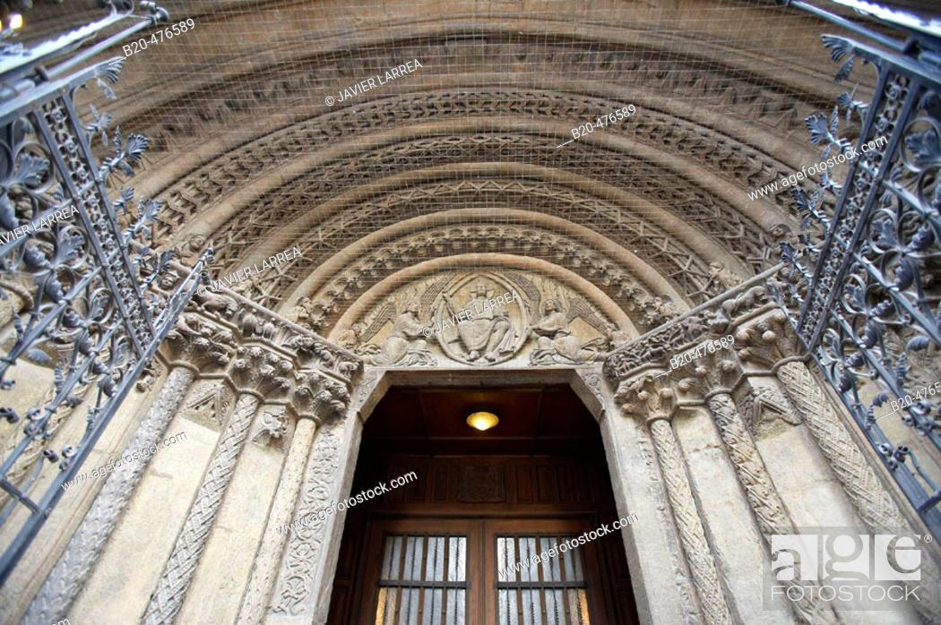 Stock Photo: Riesentor, Stephansdom (Cathedral of Saint Stephen), Vienna. Austria.
