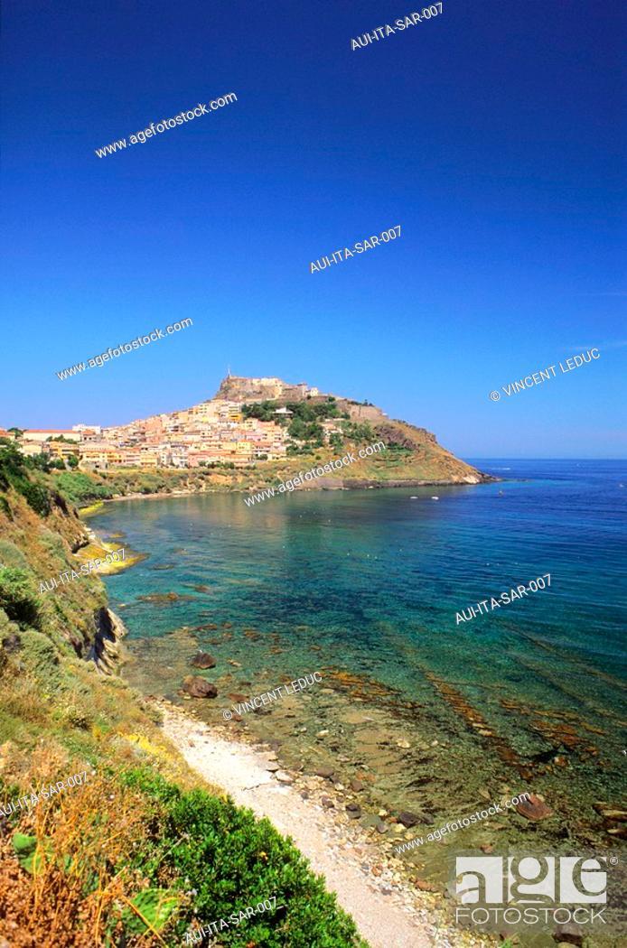 Stock Photo: Italy - Sardinia - North Region - Castelsardo.