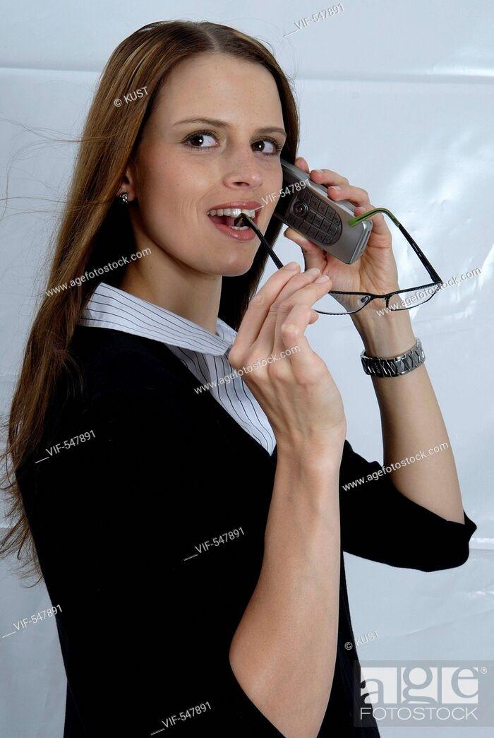 Stock Photo: Businessfrau. - 05/09/2007.