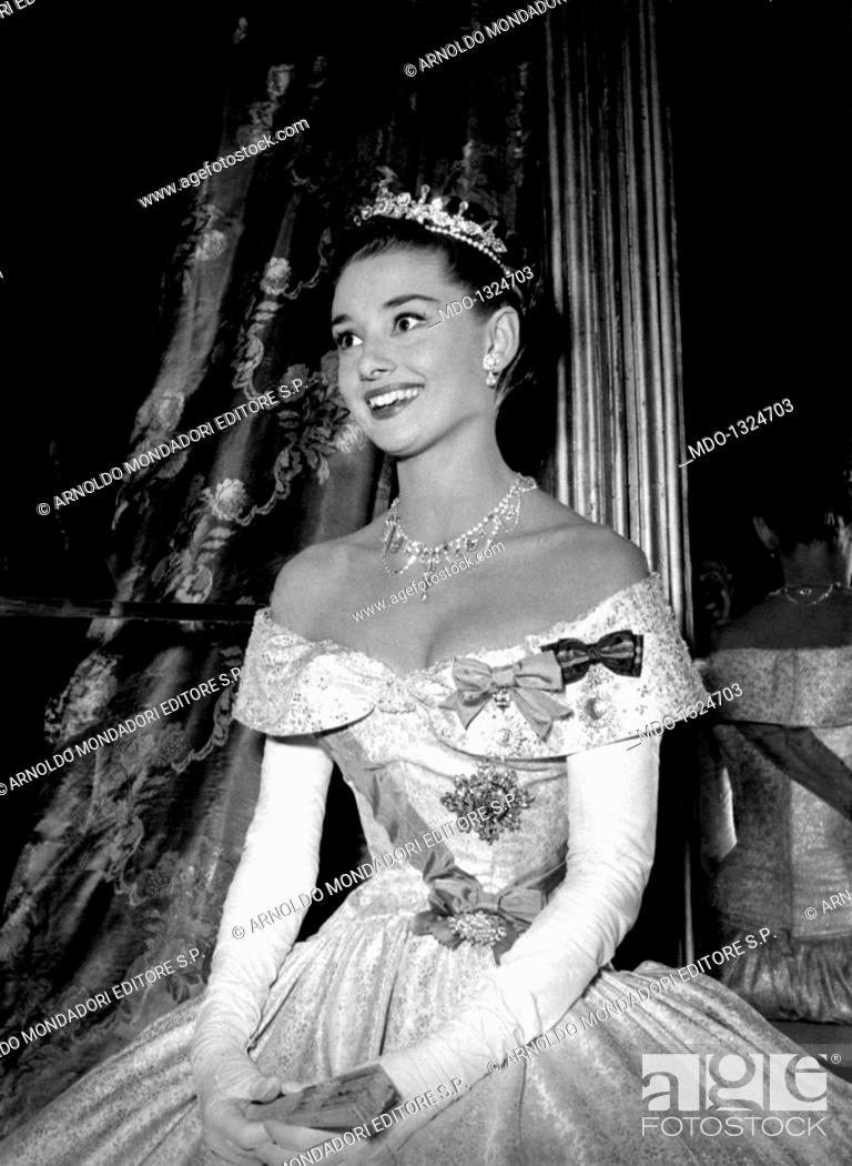 Audrey Hepburn Is Princess Ann In A Scene From The Film Roman