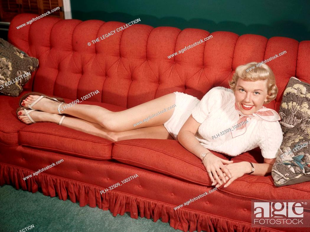 Stock Photo: Doris Day circa 1945.