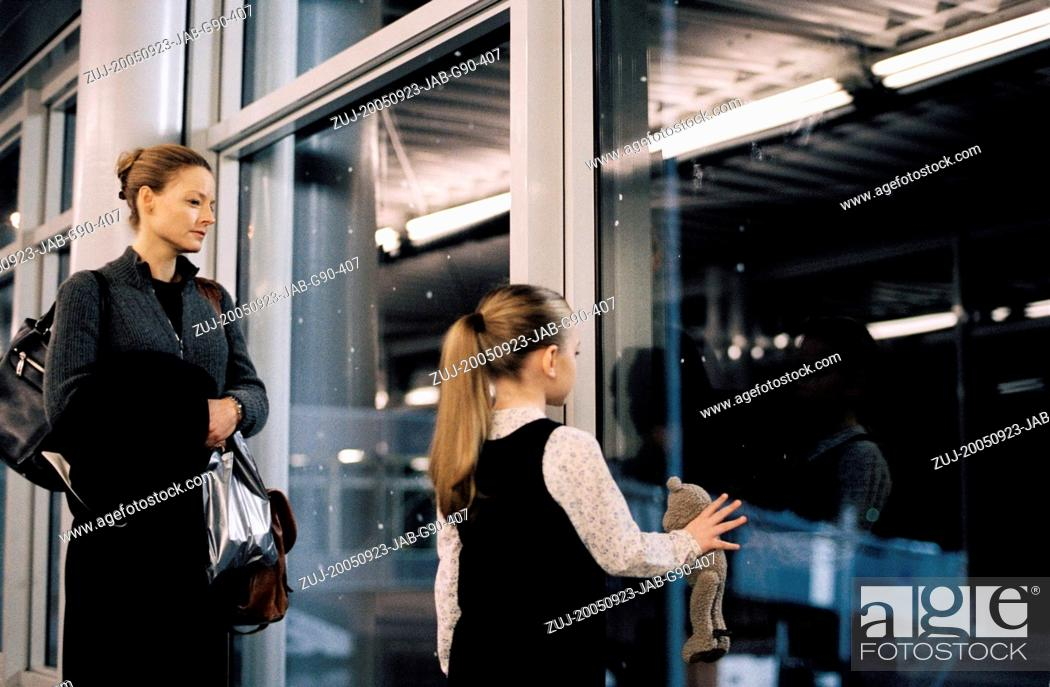 Stock Photo: RELEASE DATE: September 23, 2005. MOVIE TITLE: Flightplan. STUDIO: Touchstone Pictures. PLOT: A claustrophobic, Hitchcockian thriller.