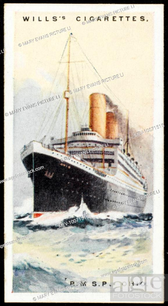 Royal Mail Steam Packet Company liner on the New York