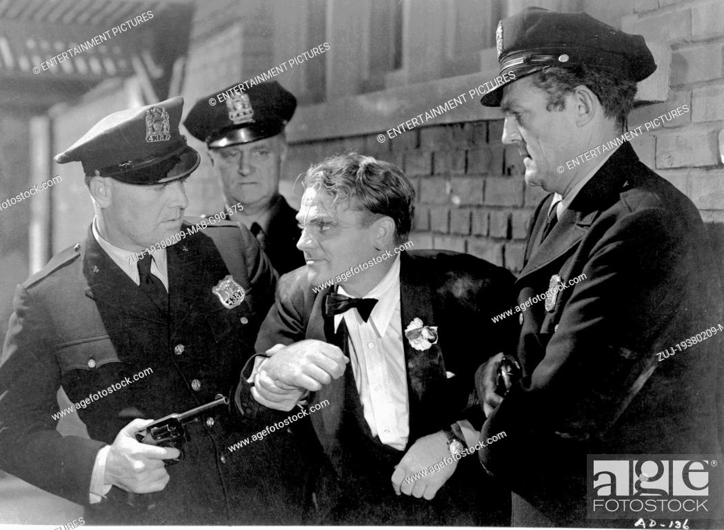 Stock Photo: RELEASED: Nov 24, 1938 - Original Film Title: Angels with Dirty Faces. PICTURED: JAMES CAGNEY. (Credit Image: © Entertainment Pictures/Entertainment.
