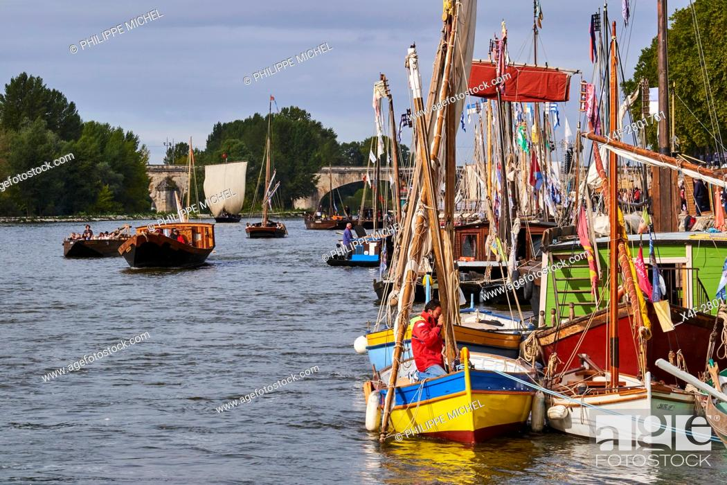 Imagen: France, Loiret, Orleans, Loire festival.