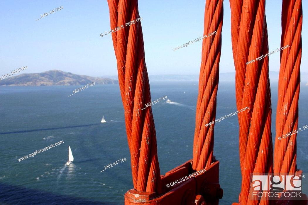 Stock Photo: Golden Gate bridge. San Francisco. USA.