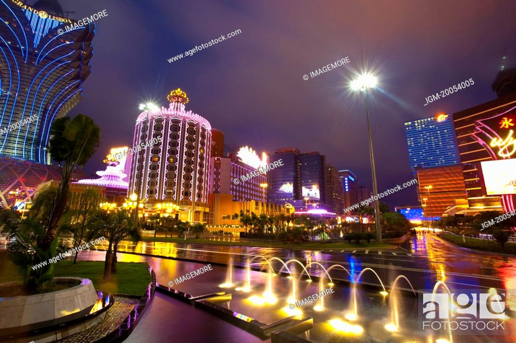 Stock Photo: China, Macou.